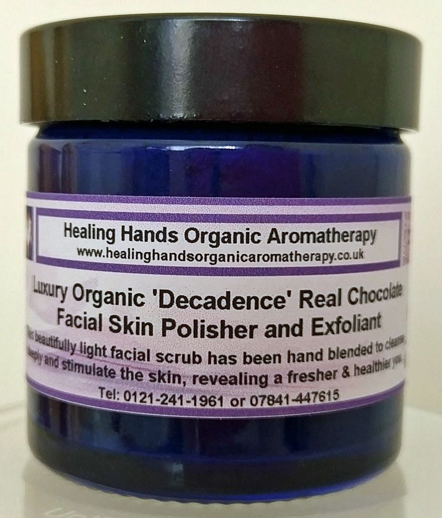 Natural Organic 'Decadence' Chocolate Facial Polisher/Exfoliant 65g