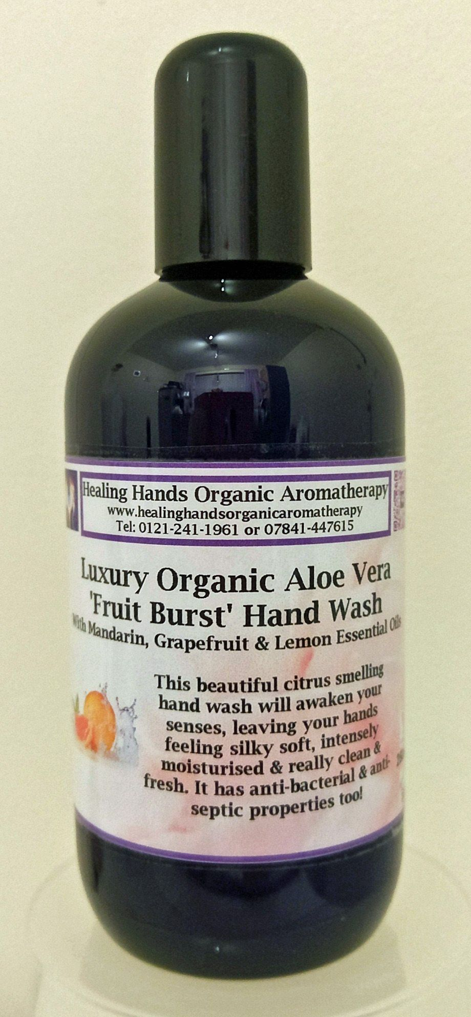 Organic Luxury Fruit Burst Hand Wash 250ml